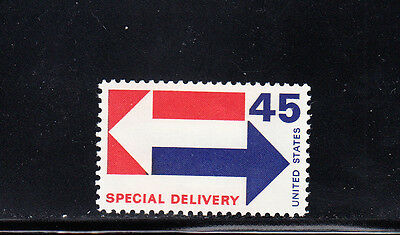 US Scott #E22, 45c Special Delivery Arrow Stamp, MNH