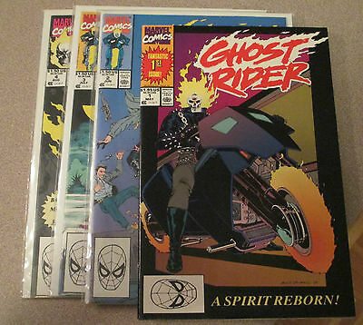 Ghost Rider 1990 #1-8 Assorted Lot Of 18 Jim Lee Mark Texeira Wolverine Punisher