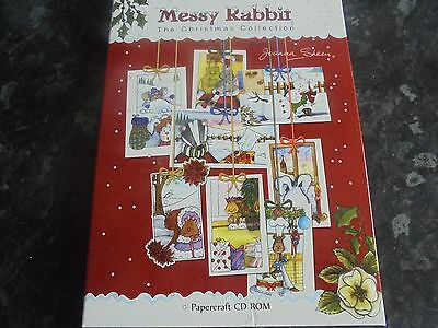 joanna sheen,messy rabbit,the christmas collection,papercraft cd rom