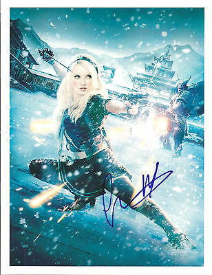 Emily Browning Signed 8X10 Photo Coa/n.a # 382717