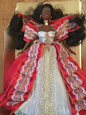 Happy Holidays Special Edition 1997 Barbie Doll African American Version