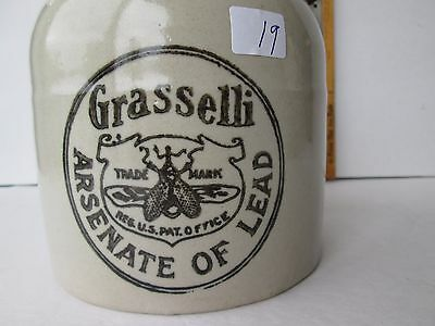 Antique Poison Half Gallon Crock