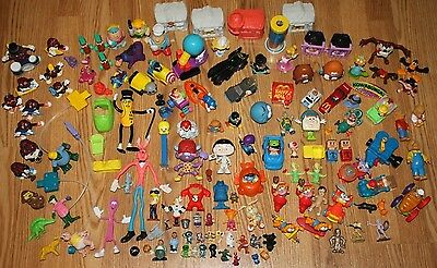Vintage Fast Food, Cereal, Vending, PVC Toys Premiums Prizes Figures Mixed Lot