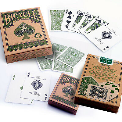 Bicycle Eco Edition Playing Cards Single Deck Stunning Design Poker Magic Sealed