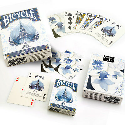 Bicycle Porcelain Playing Cards Single Deck Stunning Design Poker Magic Sealed