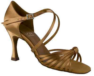 "DSI Ladies Copacabana Latin Shoe 2½"" Heel, Size UK 2½,EUR 35,US 5"