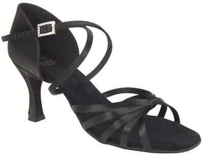 "DSI Ladies Salamanca Latin Shoe 2½"" Heel, Size UK 7,EUR 40½,US 9½"