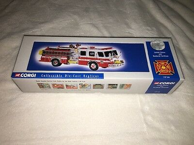Vintage Corgi collectable Die Cast Replicas Fire and Rescue Limited Edition!