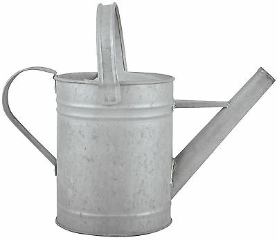 Metal Zinc Watering Can Garden Plant Decorative Old Rustic Shabby Flower Pot
