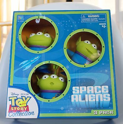 Disney Pixar Toy Story Collection Space Aliens 3-Pack Thinkway 2009 SEALED