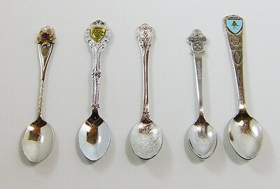 Collector Spoons From around the world Lot of 5