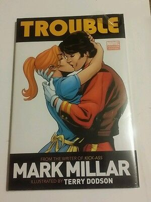 Trouble by Mark Millar & Terry Dodson Marvel Comics HC New Sealed