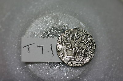 India Princely States Old Coin Nice Details Silver T7.1 A54 #5370