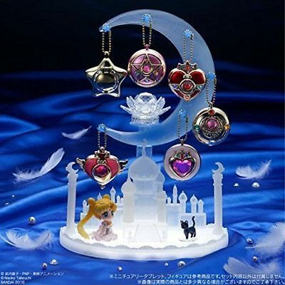 Sailor Moon : DISPLAY STAND FOR MINI COMPACT TABLET CAST KEYCHAINS from Bandai N