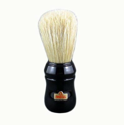 Omega 10049 BLACK Professional Boar Hair Shaving Brush. FAST FREE SHIP in CANADA