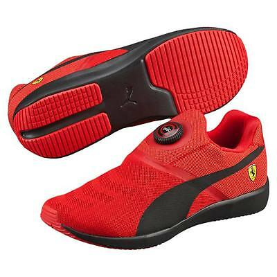 Ferrari Puma Disc Men Shoes Running Fashion Usa 13 Uk 12 Slip-On Hat L Xl Rare
