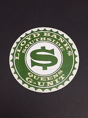 Lloyd Banks The Hunger For More Rare Record Store Promo Sticker Rap East Coast
