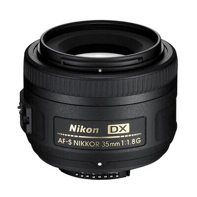 Nikon DX AF-S 35mm f/1.8G Lens (132DA) with AUST NIKON WARRANTY