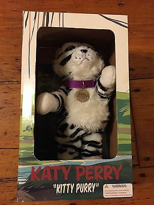 Katy Perry RARE Kitty Purry Dancing Plush Roar Musical Tiger Concert Doll