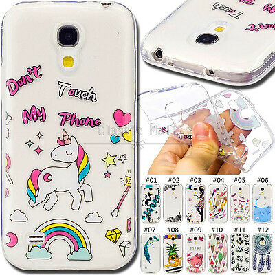 For Samsung Galaxy S4 Mini Protective Cover IMD Fashion Soft Back Skin TPU Case