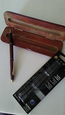 Vintage Cross Fountain Pen with Extras