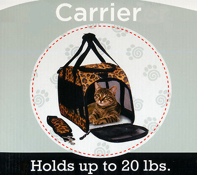 Pet Dog Cat Puppy Portable Travel Carrier Tote Bag Crates Kennel Airline Approve