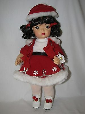 "Gorgeous 16"" Reproduction Terri Lee Holiday 2000 Doll Mint In Box W/ Certificate"
