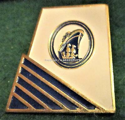 HOLLAND AMERICA LINES BLUE MARINER SOCIETY PENNANT STACK Lapel Pin Mint