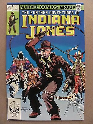 Further Adventures of Indiana Jones #1 Marvel Comics 1983 Series 9.4 Near Mint