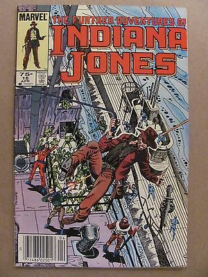 Further Adventures of Indiana Jones #16 Marvel 1983 Series Canadian Newsstand