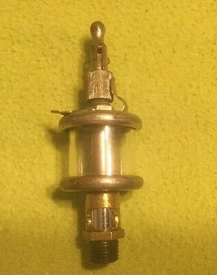Antique ~ Oiler ~ Hit n Miss ~ Engine ~ Brass ~ National Brass Mfg