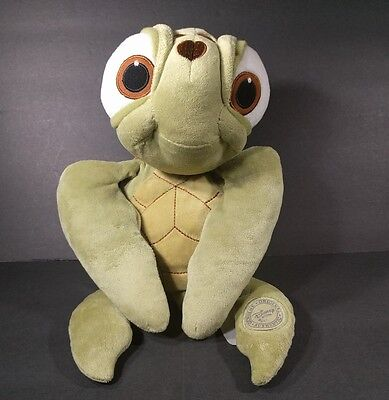 Disney Store Authentic Finding Dory Nemo Squirt Turtle Plush Stuffed Animal Used