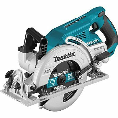 Circular Saws Makita XSR01Z 18V LXT Lithium-Ion 36V Brushless Cordless Rear Saw,
