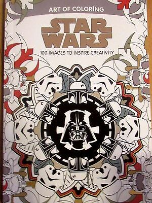 Star Wars Art of Coloring-100 Images To Inspire Creativity Adult Coloring Book