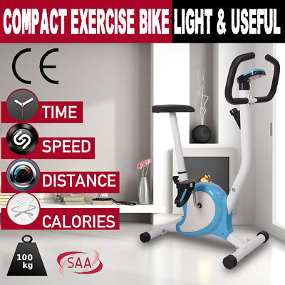 Exercise Bike Fitness Training Bicycle Home Gym Trainer Cycle Spin Fit Cycling