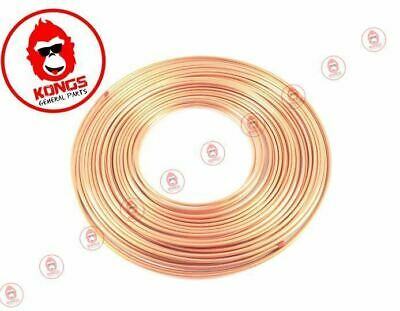 "Pancake Copper Tube 10M Coil - 3/16"" 4.8Mm Od - Marine Boat Trailer Brake Pipe"