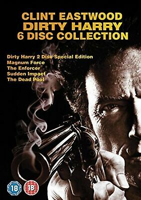 Dirty Harry 6 disc Collection DVD Clint Eastwood Harry Guardino UK New Sealed R2
