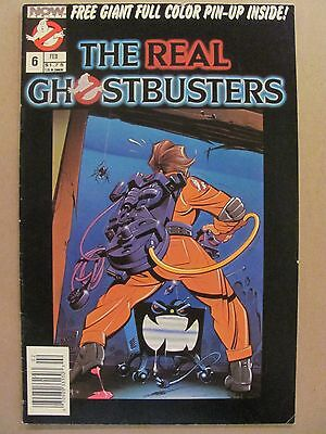 The Real Ghostbusters #6 NOW Comics 1988 Series