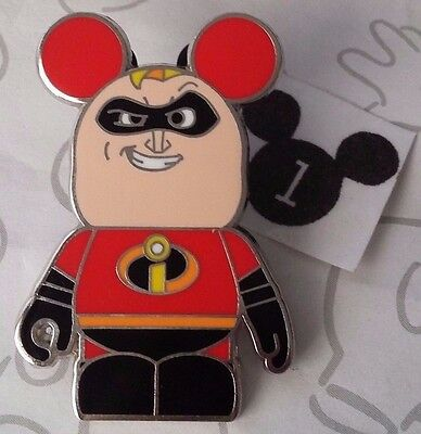 Incredibles Mr. Incredible Vinylmation Collectors Pixar Disney Pin Buy 2 Save $