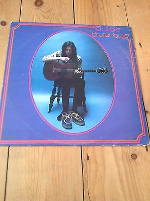 Nick Drake – Bryter Layter (ILPS9134 ) 1970s re issue in Ex condiction