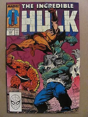 Incredible Hulk #359 Marvel Comics 1968 Series Wolverine (Illusion)