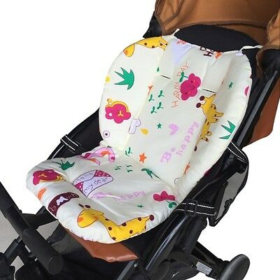 Kids Baby Stroller Pram Pushchair Liner Pad Cover Mat Car Seat Chair Cushion