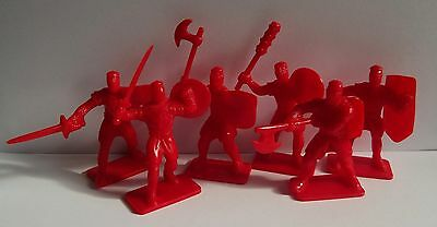 Plastic toy soldiers. Crusaders. Set 1. 54mm. 1/32 scale
