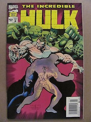 Incredible Hulk #425 Marvel Holographic Cover 52pgs Newsstand Edition 9.4 NM
