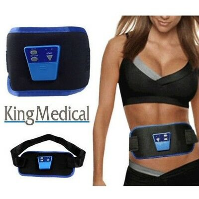 Abdominal (Abs) Electronic Muscle Toning Slimming Belt SCULPTS & SHAPES STOMACH