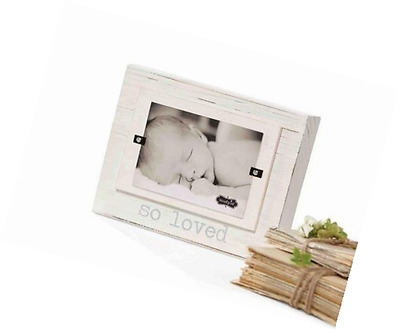 Mud Pie So Loved Baby Block Picture Frame
