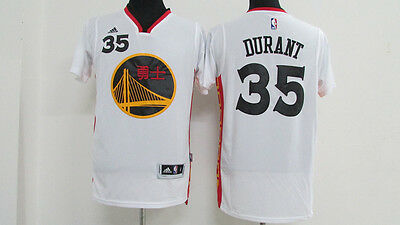 Kevin Durant Golden State Warriors Swingman Jersey Chinese New Year white S-XXL