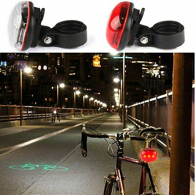 Light Control Bike Bicycle Cycling LED Flashing Light Lamp Safety Back Rear Tail