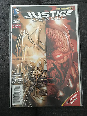 JUSTICE LEAGUE COMBO PACK #40 -New 52 - 1st Print - 1st Appearance of GRAIL