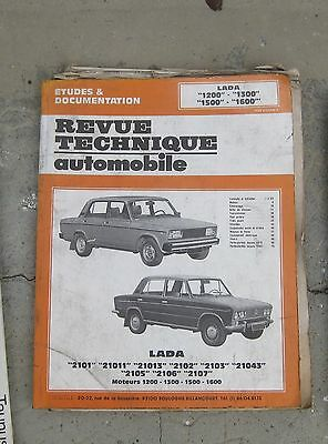 RTA revue technique automobile : etude & documentation LADA 1200 1300 1500 1600
